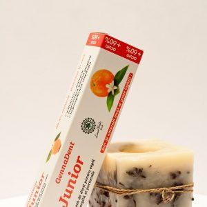 Pasta de dinti Gennadent capsuni Junior - Viva Natura