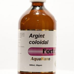 Argint coloidal Forte 30 ppm Aqua Nano 500ml