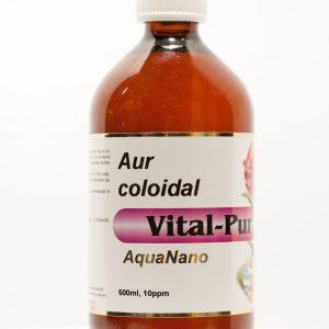 Aur coloidal Vital Pur 10 PPM 500ml