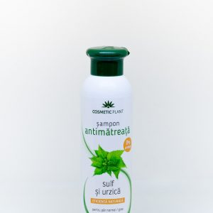 Sampon antimatreata cu urzica si sulf 250ml - Cosmetic Plant