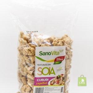 Cuburi vegetale de soia 300g - Sano Vita