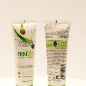 Crema de maini cu aloe vera si masline - Neobio