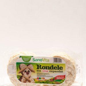 Rondele de orez expandat - Sano Vita