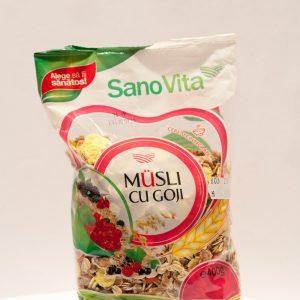 Musli cu goji 400g - Sano Vita