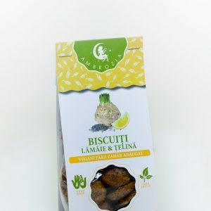 Biscuiti vegani lamaie si telina 150g - Ambrozia