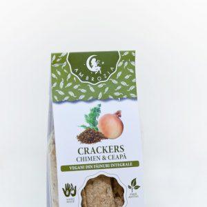 Biscuiti vegani chimen si ceapa 150g - Ambrozia