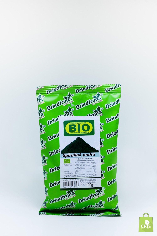 Spirulina pudra BIO 100g - Driedfruits