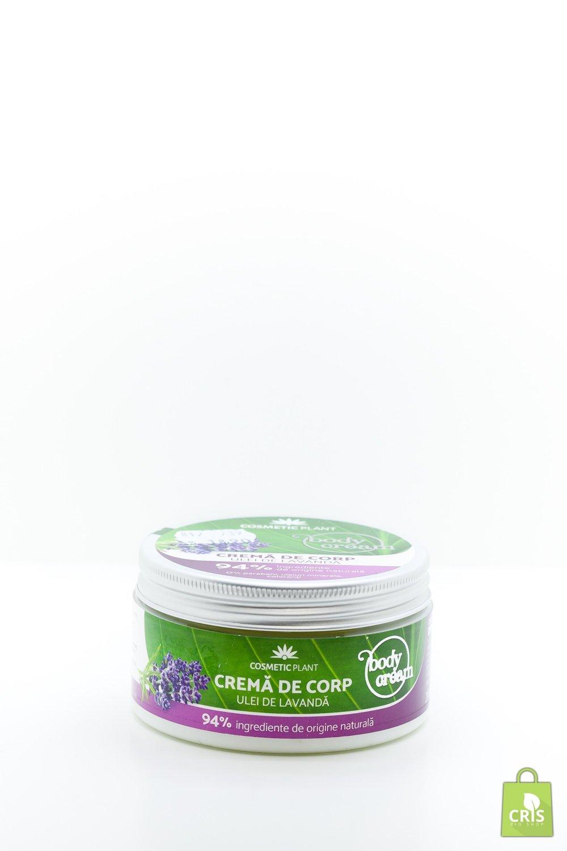 Crema de corp cu ulei de lavanda 200ml - Cosmetic Plant