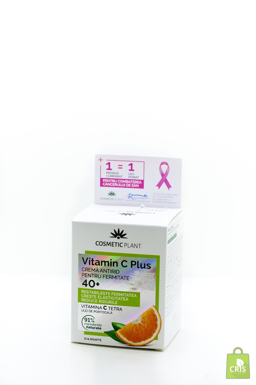 Crema antirid 40+cu ulei de portocale si vitamina C 50ml - Cosmetic Plant