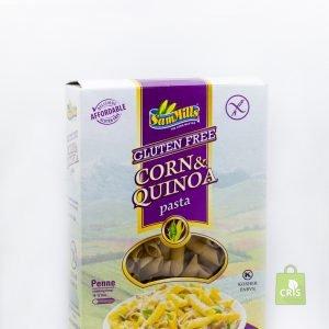 Paste d'oro din porumb si quinoa fusilli 250g - SamMills