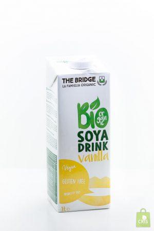 Bautura de soia cu vanilie BIO 1L - The Bridge