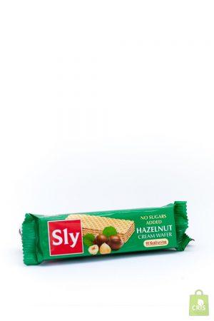 Napolitate cu crema de alune 20g - Sly