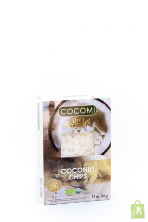 Cocos chips raw BIO 100g - Cocomi