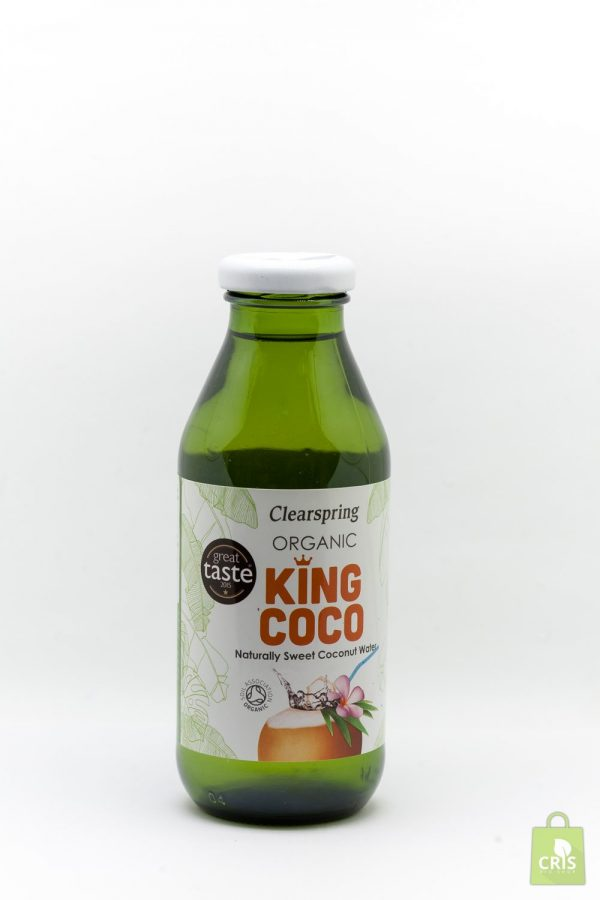 Suc de cocos 330ml ECO - Clearspring