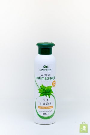 Sampon antimatreata cu urzica si sulf 250ml - Cosmetic Plant