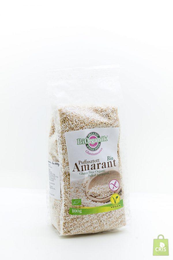 Amaranth expandat BIO 100g - Biorganik