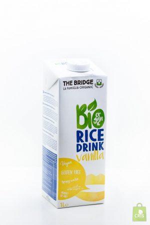 Bautura de orez cu vanilie BIO 1L - The Bridge