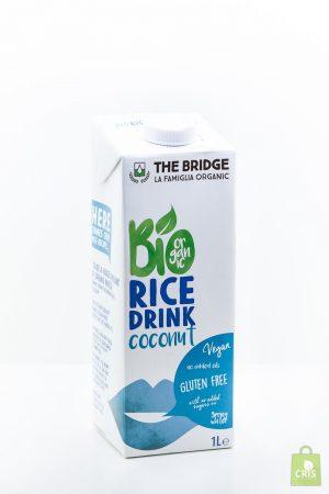 Bautura din orez cu cocos BIO 1L - The Bridge
