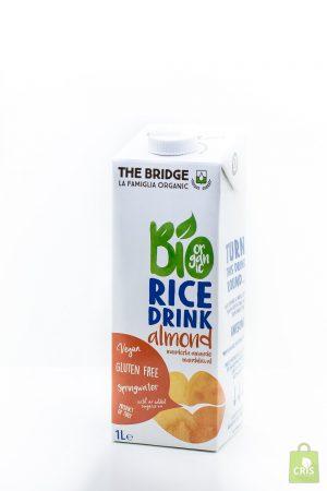 Bautura din orez cu migdale BIO 1L - The Bridge