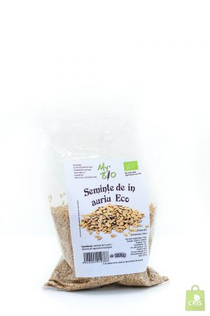 Seminte de in auriu bio 200g - My Bio