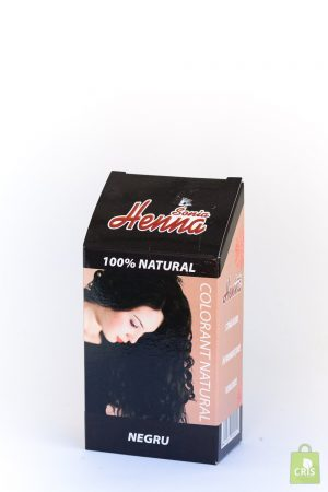 Vopsea par Henna negru - Kian Cosmetic