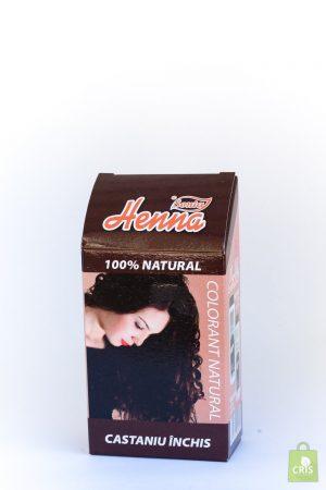 Vopsea par Henna 100G - castaniu inchis