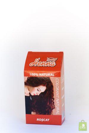 Vopsea de par Henna roscat