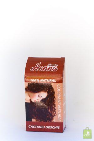 Vopsea Henna 100G - castaniu deschis