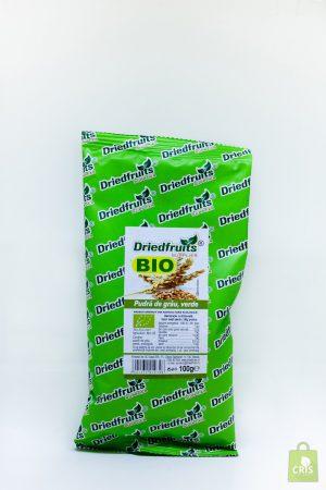 Pudra de grau verde BIO 100g - Driedfruits