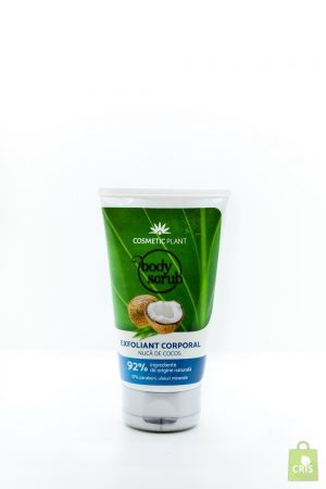 Exfoliant corporal cu nuca de cocos 150ml - Cosmetic Plant