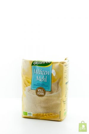 Faina integrala de grau ECO 1kg - Dennree