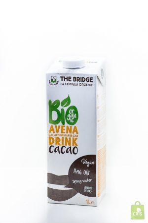 Bautura din ovaz cu cacao BIO 1L - The Bridge
