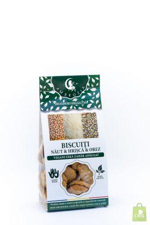 Biscuiti vegani naut si lamaie 150g - Ambrozia