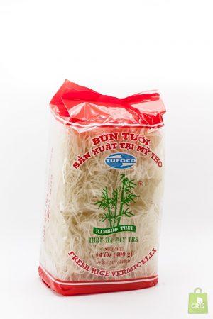 Fidea proaspata de orez 400g - 8 role - Bamboo