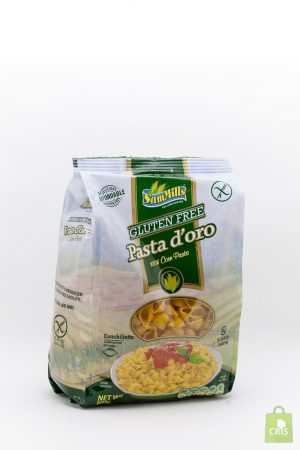 Paste d'oro din porumb fara gluten(scoici) 500g - Sam Mills
