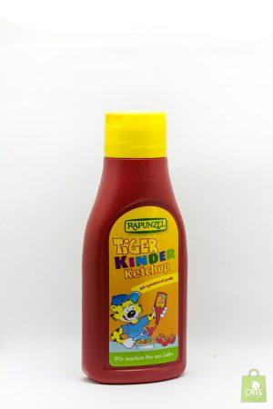 Ketchup pentru copii de tomate Eco 500ml - Tiger Rapunzel