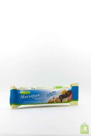 Baton martipan cu glazura de ciocolata Eco 50g - Rapunzel