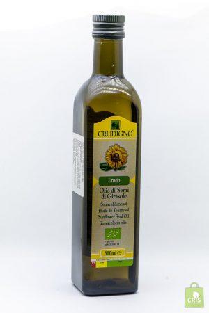 Ulei de floarea soarelui Eco 750ml - Crudigno