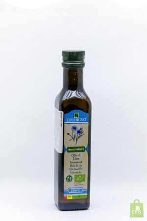 Ulei de in Eco 250ml - Crudigno