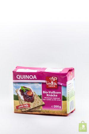 Paine crocanta cu quinoa eco 200g - Linea Natura
